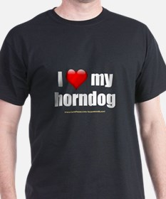 """Love My Horndog"" T-Shirt"