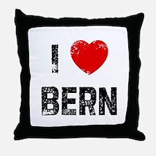 I * Bern Throw Pillow