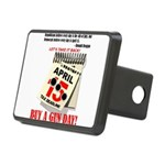 Buy a Gun Day Rectangular Hitch Cover