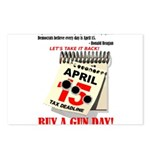 Buy a Gun Day Postcards (Package of 8)