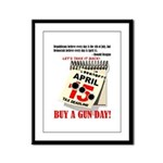 Buy a Gun Day Framed Panel Print