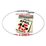 Buy a Gun Day Sticker (Oval 10 pk)