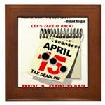 Buy a Gun Day Framed Tile
