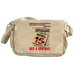 Buy a Gun Day Messenger Bag