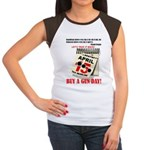 Buy a Gun Day Women's Cap Sleeve T-Shirt