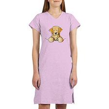 Pocket Golden Retriever Women's Nightshirt