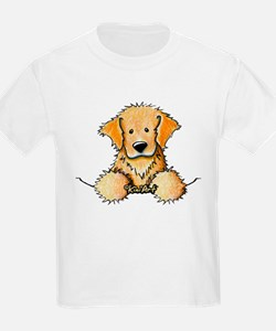 Pocket Golden Retriever T-Shirt