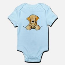 Pocket Golden Retriever Infant Bodysuit
