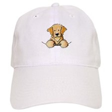 Pocket Golden Retriever Baseball Cap