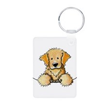 Pocket Golden Retriever Keychains