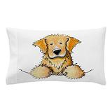 Golden retriever Pillow Cases