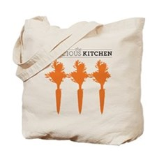 The Conscious Kitchen Vert Carrot Tote