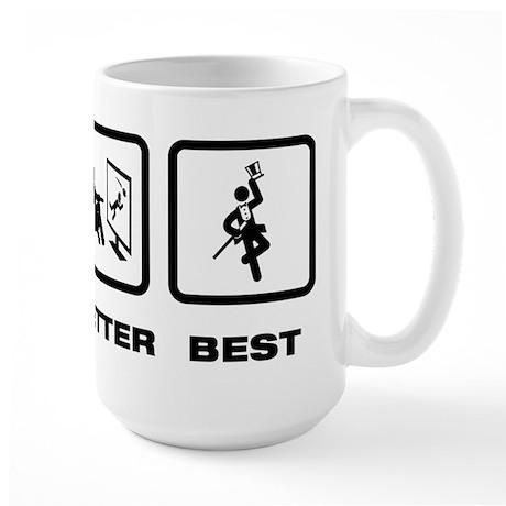 Tap Dancing Large Mug
