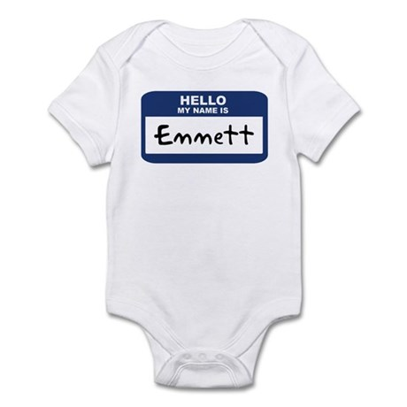 Hello: Emmett Infant Bodysuit