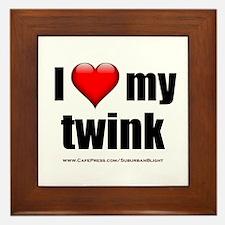 """""""Love My Twink"""" Framed Tile"""