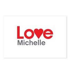 I Love Michelle Postcards (Package of 8)