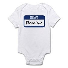 Hello: Dominic Infant Bodysuit