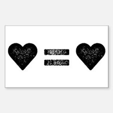 Love Equals Love Decal