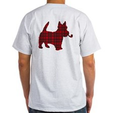 Scottish Terrier Tartan T-Shirt