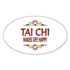 Tai Chi Happy Decal