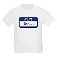 Hello: Jonas Kids T-Shirt