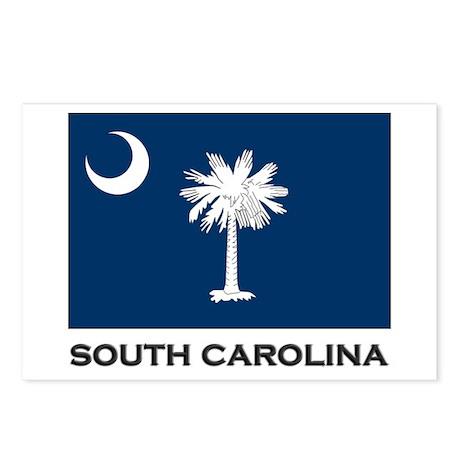 South Carolina Flag Stuff Postcards (Package of 8)