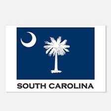 South Carolina Flag Stuff Postcards (Package of 8)