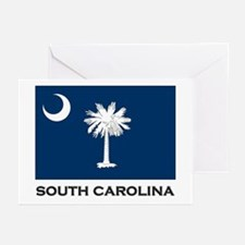 South Carolina Flag Stuff Greeting Cards (Package