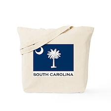 South Carolina Flag Stuff Tote Bag