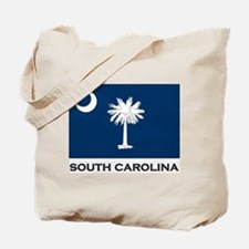 South Carolina Flag Stuff Tote Bag