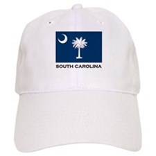 South Carolina Flag Stuff Baseball Cap
