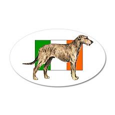 Irish Wolfhound Wall Decal