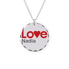 I Love Nadia Necklace