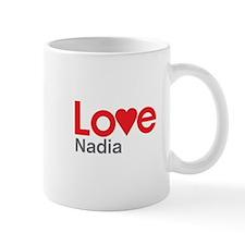 I Love Nadia Mug