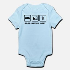 Bass Clarinet Player Infant Bodysuit