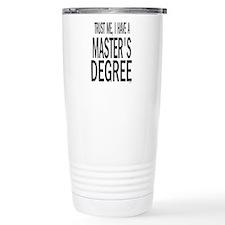 Unique Masters graduation Travel Mug