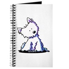 KiniArt Curious Westie Journal