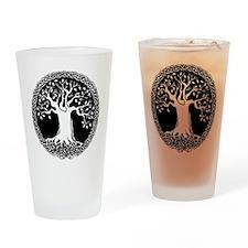 Celtic Tree Drinking Glass