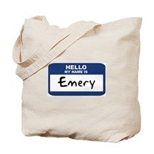 Hello: Emery Tote Bag