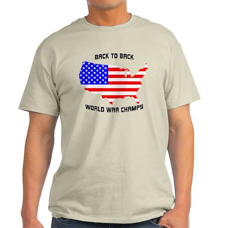 Usa - Back-To-Back World War Champs T-Shirt