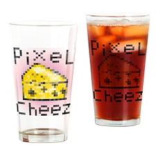 PixeL Cheez Drinking Glass