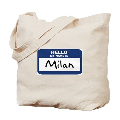 Hello: Milan Tote Bag