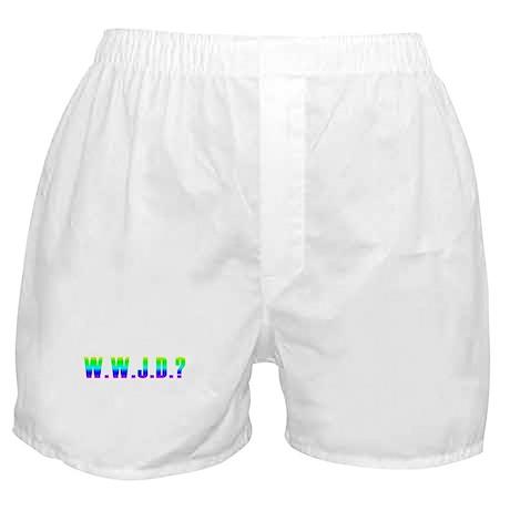 W.W.J.D? Boxer Shorts