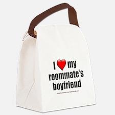 """Love Roommate's Boyfriend"" Canvas Lunch Bag"
