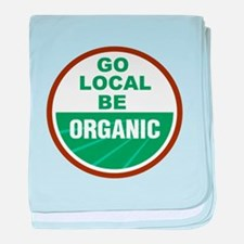 Go Local Be Organic baby blanket