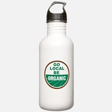 Go Local Be Organic Water Bottle