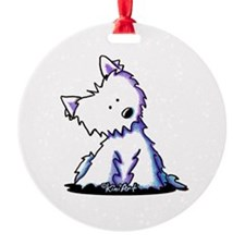 Curious Westie Ornament