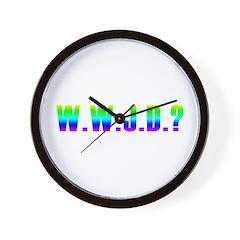 W.W.J.D? Wall Clock