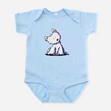 Curious Westie Infant Bodysuit