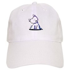 Curious Westie Baseball Cap